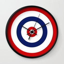 Old_Dart_Board Wall Clock
