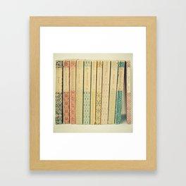 Old Books Framed Art Print