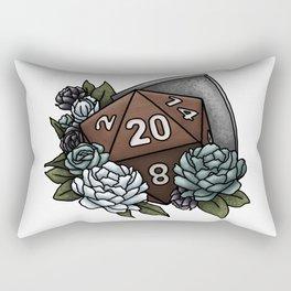 Paladin Class D20 - Tabletop Gaming Dice Rectangular Pillow