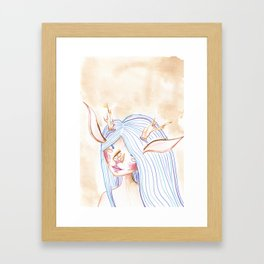 Faunish Framed Art Print