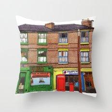 HAPPY FASHION Throw Pillow