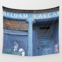 edinburgh Wall Tapestries featuring Beldam Lasar Leith Edinburgh by RMK Creative