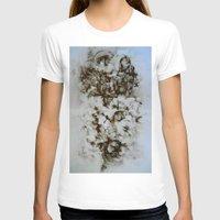 tea T-shirts featuring Tea  by Jennifer Cooper