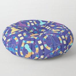 Game Board - Purple Floor Pillow