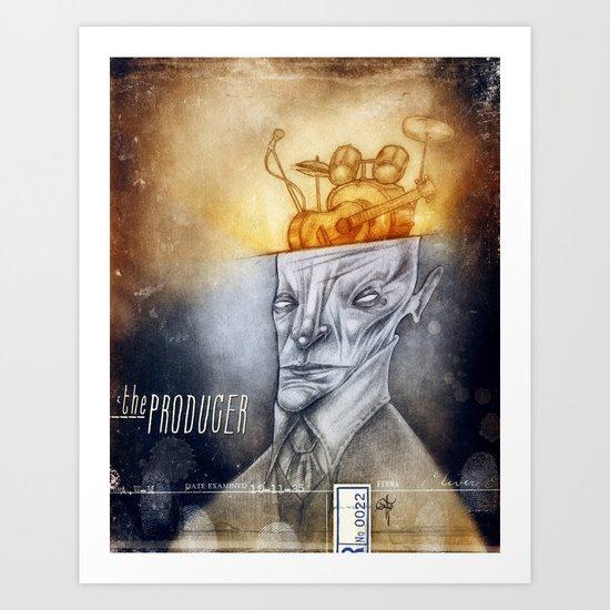 The producer Art Print