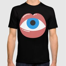 I See You X-LARGE Black Mens Fitted Tee