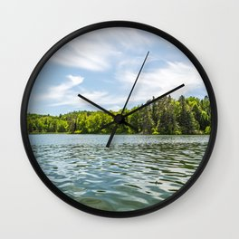 Lake Itasca - Minnesota, USA 2 Wall Clock