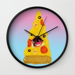 Pizza Eye Wall Clock