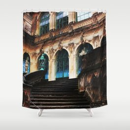 Zwinger Dresden abstract Shower Curtain