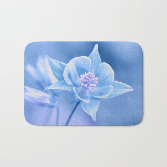 Columbine Flower 161 Bath Mat