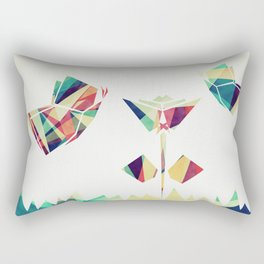 Spring Illustration Rectangular Pillow