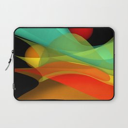 bicubic waves -4- Laptop Sleeve