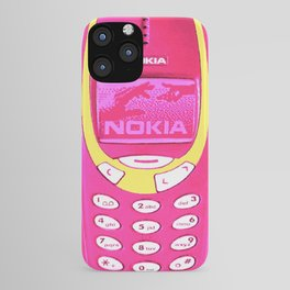 OLD NOKIA - Fluo Pink iPhone Case