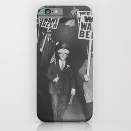 We Want Beer iPhone Case