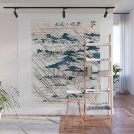 Karasaki no yau Japanese Ukiyo-E Woodblock Wall Mural