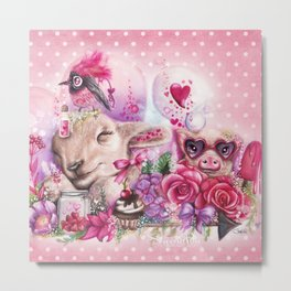 Dreaming of a Sweet Valentine Metal Print