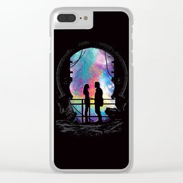 Universal Alignment Clear iPhone Case