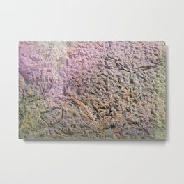 textured wall for background and texture Metal Print