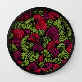 Happy abstract: Jungle Nr:02 Wall Clock