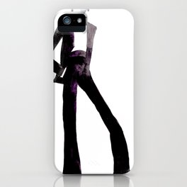 Suit and tie iPhone Case