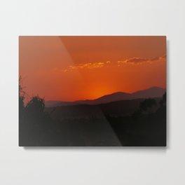 Calliope Sunset - Queensland Metal Print