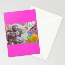 Angel of the cat Stationery Cards