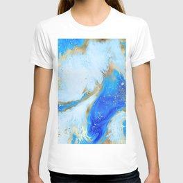 Romantic Blue Texture 01 T-shirt