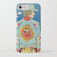 dylan iPhone & iPod Cases featuring Bob Dylan by Susan Burghart