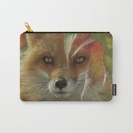 Autumn Red Fox Carry-All Pouch