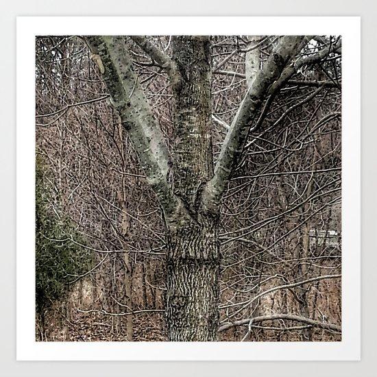 """""""Tree Hugs"""" Art Print"""