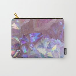 Pink Aura Crystals Carry-All Pouch