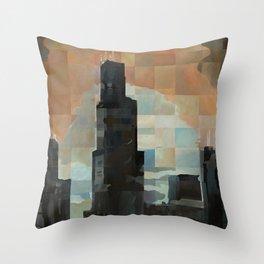 Sears at Sunrise Throw Pillow