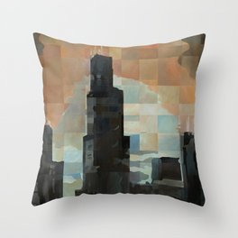 Sears at Sunrise Throw Pillow