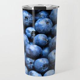 Blueberries pattern Travel Mug