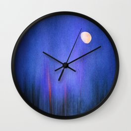 Moonlight in Samosa Wall Clock