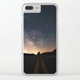 Milky Way, Luddington, Micghian Clear iPhone Case