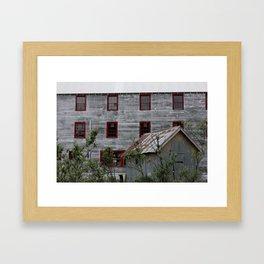 Overshadowed Framed Art Print