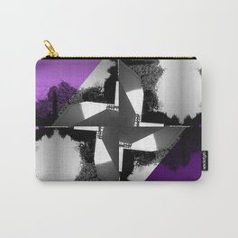 Fractal Wind Vane Skyline Carry-All Pouch