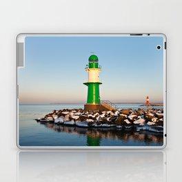 Mole in Warnemuende Laptop & iPad Skin
