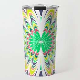 Floral burst Travel Mug