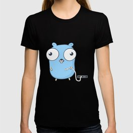 Golang - gopher wizard T-shirt