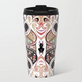 Symmetrical Cat (50i) Travel Mug