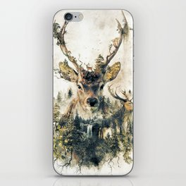 Deer Surrealism iPhone Skin
