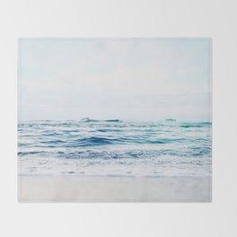 Calm Waves Throw Blanket
