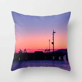 Subic Bay Throw Pillow
