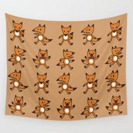 Stickimals - Foxxy Wall Tapestry