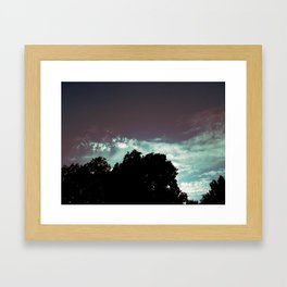 Just That Glow Framed Art Print