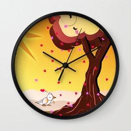 Under the tree part II Wall Clock