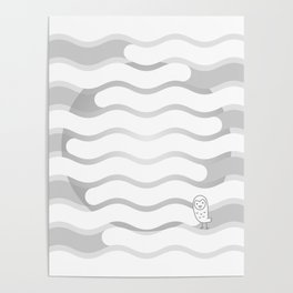 012 OWLY clouds Poster