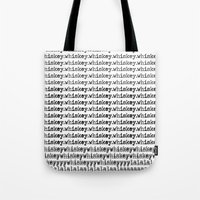 whiskey Tote Bags featuring Whiskey by WhiskeyDreams